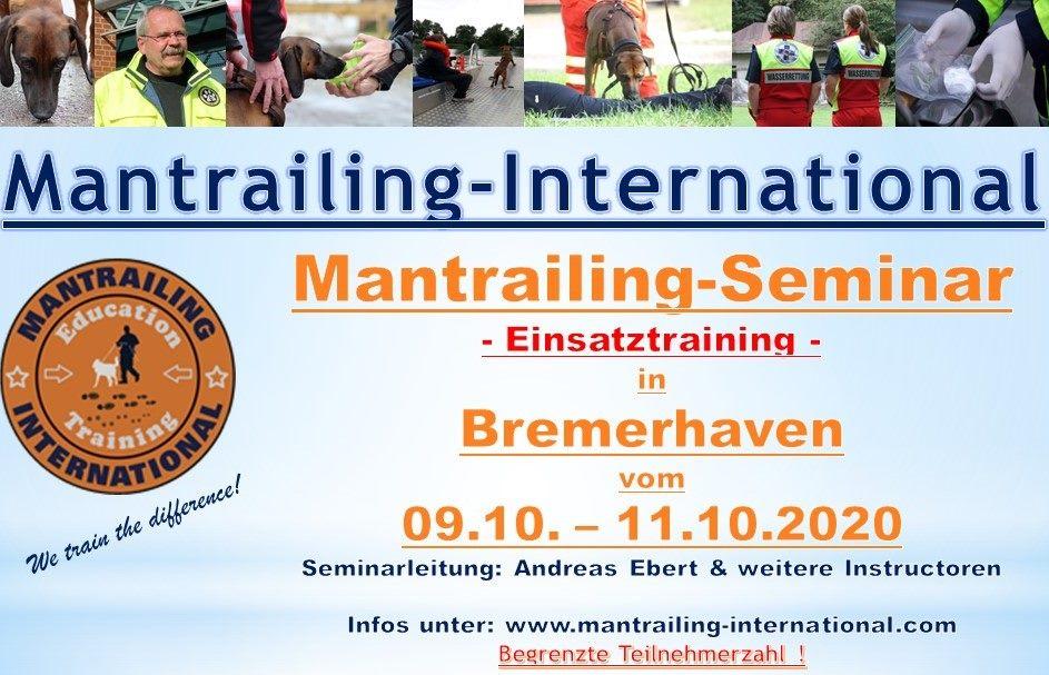 Mantrailing -Seminar 2020
